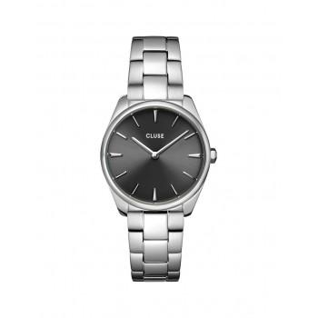 Féroce Petite Steel Dark Grey, Silver Colour